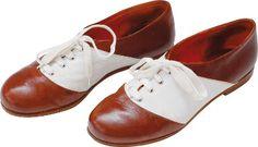 Vintage Lederschuhe in rot & weiß | Foto: dawanda.com  https://www.foreverly.de/magazin/accessoires-fuer-den-braeutigam/