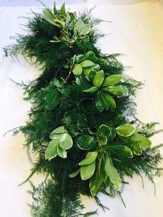 Eucalyptus Mix Greens Garland
