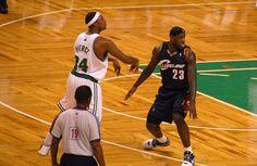 The biggest rival of Brooklyn Nets' Paul Pierce is LeBron James. #Nets #NBA