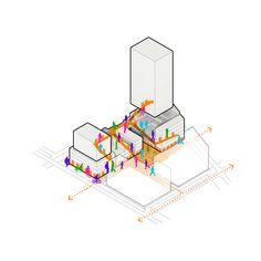 Landscape Architecture Presentation Layout Cities 32 Ideas For 2019 Architecture Concept Diagram, Architecture Sketchbook, Architecture Panel, Architecture Graphics, Architecture Portfolio, Architecture Design, Minecraft Architecture, Architecture Diagrams, Urban Design Diagram