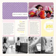 Sheri Mae Designs: project life 2013 | week ten