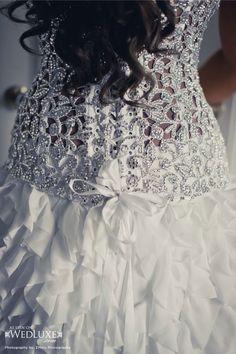 Pnina Tornai dress detail..