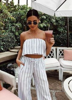 33 Upcoming Street Style Outfits To Update You Wardrobe - Global Outfit Experts Style Outfits, Summer Fashion Outfits, Mode Outfits, Spring Summer Fashion, Spring Outfits, Casual Outfits, Summer Brunch Outfit, Co Ords Outfits, Country Outfits