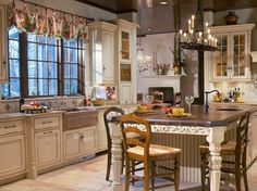 french country kitchen by houzzglam