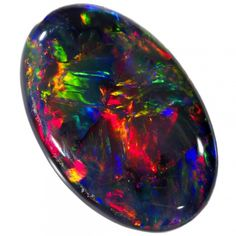 5.11 CTS BLACK OPAL -LIGHTNING RIDGE- [SO9579]  gem fire opal, Black opal,australian opal , red blACK OPAL