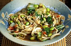 Pho Chay Vegetarian Vietnamese Noodle Soup (from Healthy Green Kitchen) Vegetarian Vietnamese, Vegetarian Pho, Vegetarian Recipes, Healthy Recipes, Vietnamese Noodle, Seafood Pho Recipe, Veggie Pho, Veggie Dinners, Paella