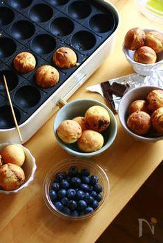Takoyaki Pan, Food Plating, Muffin, Sweets, Plates, Fruit, Breakfast, Recipes, Licence Plates