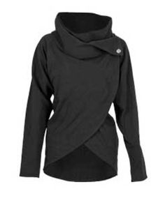 [Concept & Redesign]  Lululemon Cocoon Wrap - no longer available; but recreate with a hood?