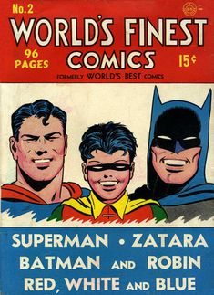 Cover for World's Finest Comics (1941 series) #2