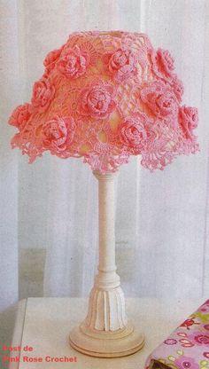 Cupula+para+Abajur+Rosas+em+Crochet.PNG (431×761)