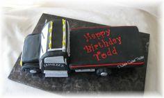 wrecker truck birthday parties | Tow Truck Cake