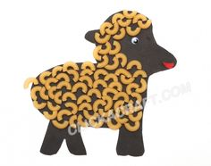 Macaroni Sheep - Click on image to see step-by-step tutorial.