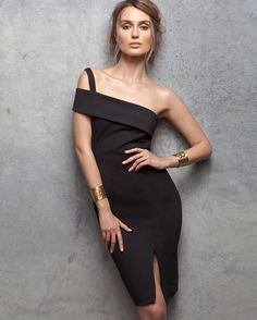 Nicholas Backless Ponte Wrap Dress | Shop IntermixOnline.com