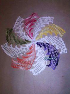 Best 11 New melange crochet doily inches-crochet tablecloth-crochet doilies-christmas gift-melange doily-medium doily-pink doily – SkillOfKing. Crochet Bedspread Pattern, Crochet Motif Patterns, Crochet Designs, Knitting Patterns, Crochet Blocks, Lace Doilies, Crochet Doilies, Crochet Flowers, Crochet Art