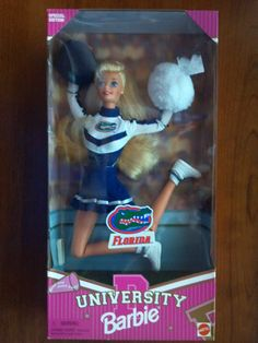 University of Florida cheerleader Barbie - 1996