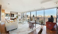 Famous peoples places on pinterest 531 pins for Apartment overlooking central park