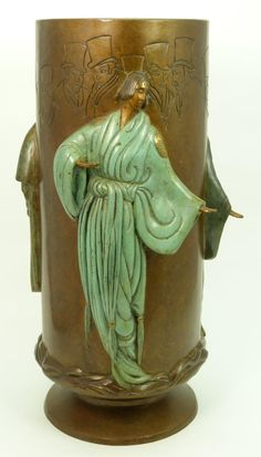 1000 images about erte on pinterest romain de tirtoff On vase antique romain
