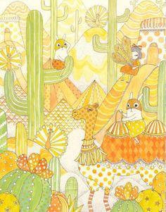 """Yoko Furusho - Camouflage """"Yellow"""""""
