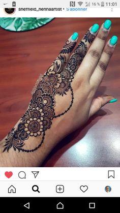 Henna Hand Designs, Dulhan Mehndi Designs, Mehndi Designs Finger, Pretty Henna Designs, Henna Tattoo Designs Simple, Full Hand Mehndi Designs, Mehndi Designs For Beginners, Modern Mehndi Designs, Mehndi Design Pictures