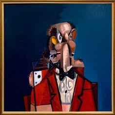 GEORGE CONDO The Irish Barber, 2008 Oil on canvas