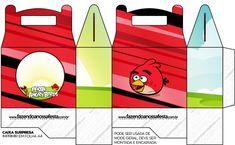 Caixa Lembrancinhas Angry Birds