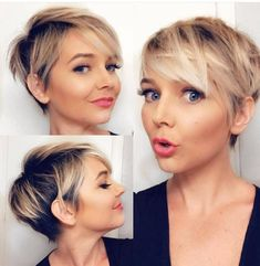 Beste Pixie Cut Frisur Ideen für Frauen 2019 Thin Hair Cuts pixie cuts for thin hair 2018 Latest Short Hairstyles, Short Pixie Haircuts, Pixie Hairstyles, Hairstyles With Bangs, Summer Hairstyles, Hairstyle Ideas, Hair Ideas, Haircut Short, Hairstyles 2016