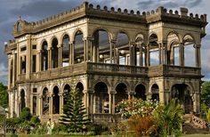 The Ruins, Talisay City, Negros Occidental, Philippines - my father was from here.  His family owned a sugar cane plantation too.