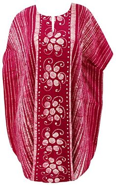 Womens Beachwear Casual Dress Caftan MAXI Dress Batik Pink US 14 28 Spring Summer 2017 ** You can find out more details at the link of the image. Casual Evening Dresses, Batik Dress, Beachwear For Women, Beach Covers, Green Turquoise, Purple Yellow, Dress Brands, Red And Pink, Summer Beach