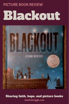 In Blackout, Mom, Dad, and Big Sister are all too busy to play. Until the power goes out. The book features a mixed-race family. #picturebook #diversebooks #readyourworld