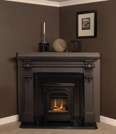 Corner Fireplace Mantels Wood | Fires of Tradition | Mantels for Valor Fireplaces - Mantels, slips ...