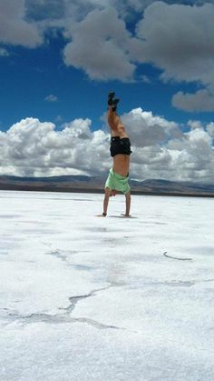 There is absolutely no place where you can't be silly. #Argentina #Purmamarca #Travel