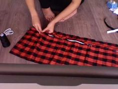 diy: simple vest 2 - YouTube