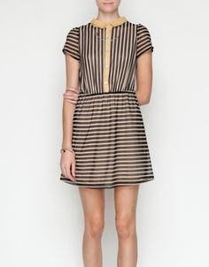 SO cute. We should all just buy this dress because it's adorable. BUT something like this would be fun with some black tights and maybe a denim or leather jacket.