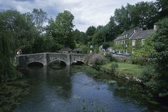 Bibury, Cotswalds England.  We stood on that bridge.