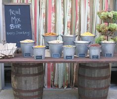 trail mix bar - Google Search