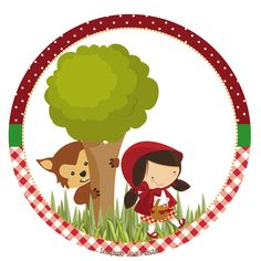 Chapeuzinho Vermelho – Kit digital gratuito – Inspire sua Festa ®