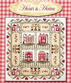 Houses — Patchplay Quilting     CHANGRE COLORS FOR PRIMITIVE