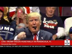 Donald Trump Doesn't Like The Microphone in Pensacola (1-13-16) - YouTube