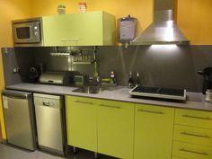 Beautiful Green Kitchen