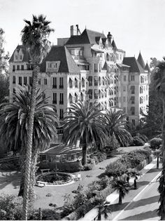Chateau Elysee  Before it was the Church of Scientology Celebrity Centrity Centre, the French-Normandy style castle on the corner of Franklin and Bronson was known as the Chateau Elysee. The Manor, as it was called in the 1930s, thrived as a residential hotel for famous actors like Bette Davis, Cary Grant, Clark Gable and Ginger Rogers.