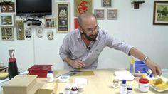 CW Artesanato - Carlos Saad - Mulher.com - Rede Século XXI - Caixa com t...