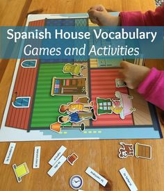 Spanish house vocabulary is basic and useful for kids. With these games and activities, children connect images to words for effective learning.