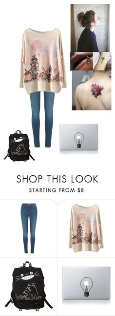 """""""I want cotton candy"""" by thissillykitty ❤ liked on Polyvore featuring River Island and Vinyl Revolution"""