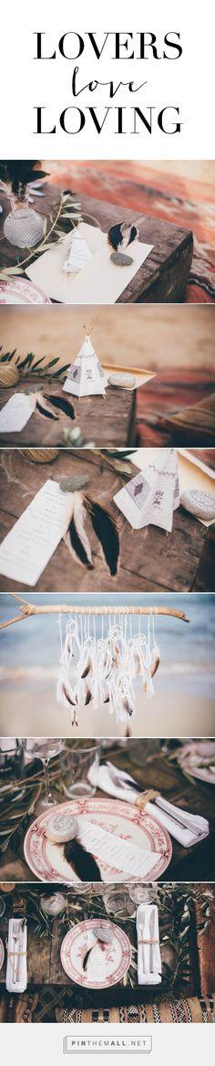 Unique boho wedding stationery design » Lovers Love Loving  www.lovingibizaweddings.com  #wedding #design #unique #boho #hippie #tipi #dreamcatcher #decoration - created via https://pinthemall.net
