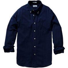 Indigo Oxford Hugger Original Button Down   Gant