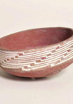 Escudilla decorada Paola Gonzalez, Inca, Aztec, Decorative Bowls, Clay, Painted Birds, Norte, Slanted Walls, Vaulting