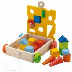 Neem al je blokken overal mee naartoe! Nintendo 64, Educational Toys, Toy Chest, Cube, Games, Logos, Decor, Google, Plays