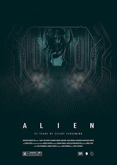 Alien - 35th Anniversary poster - Luke Butland