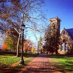 The UVA Chapel - Where Francisco and I got married.