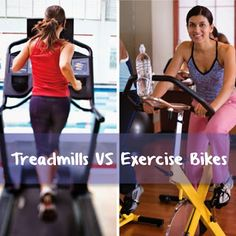 Treadmills vs. Exercise Bikes: Which is Better? Find out here. #exercise #run #workout